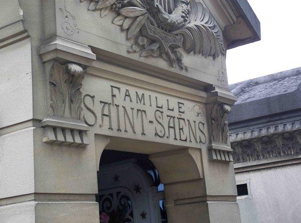Saint-Saens grave Paris composer