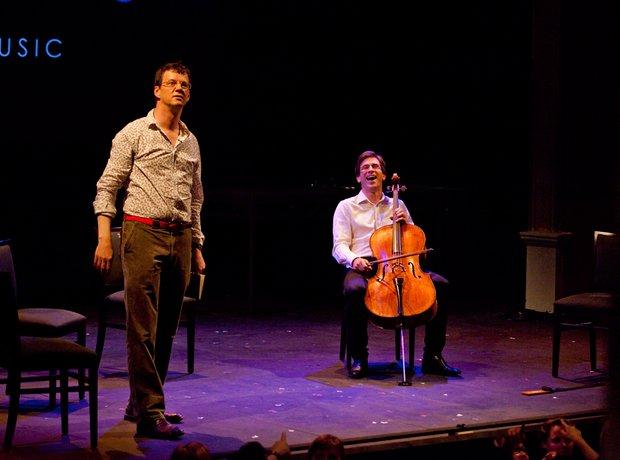 Guy Johnston and the Sacconi Quartet
