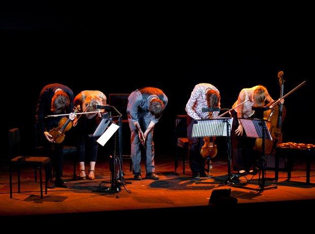 Jon Boden and the Sacconi Quartet at the Bristol P