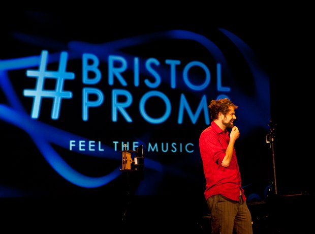 Nicola Benedetti at the Bristol Proms