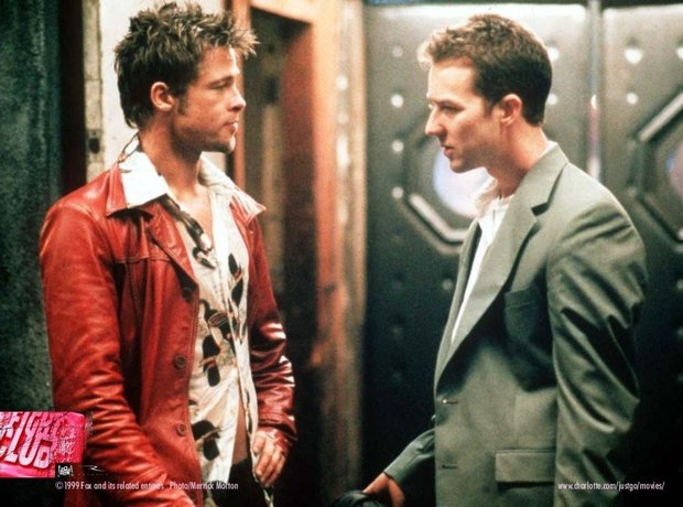 Fight Club Brad Pitt Edward Norton