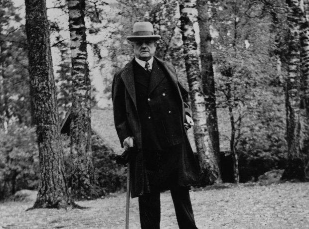 Sibelius forest Finland