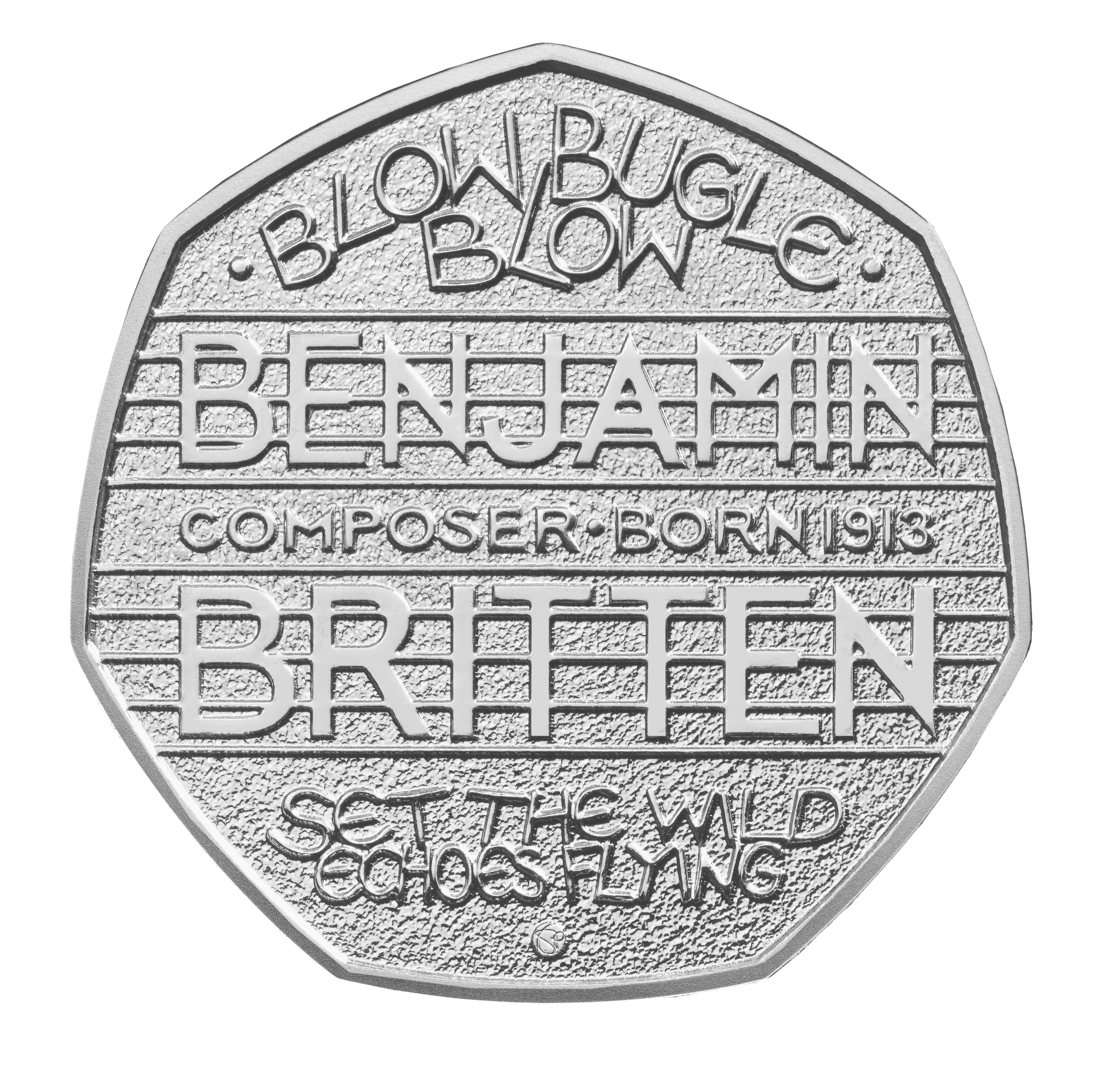 Britten coin design