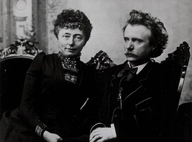 Edvard Grieg Nina Hagerup composer