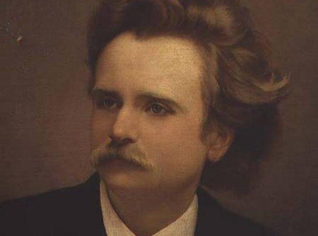 Edvard Grieg portrait composer Norwegian