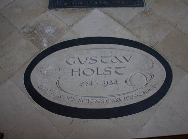 Holst memorial Chichester