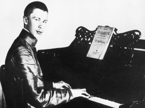 Young Prokofiev piano