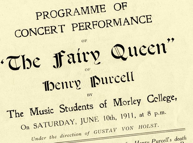 Purcell Fairy Queen