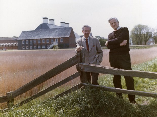 Benjamin Britten Peter Pears Snape Maltings