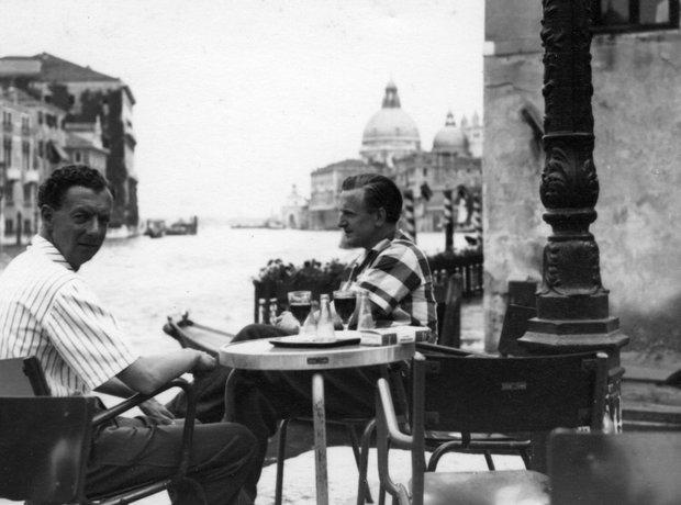 Benjamin Britten Peter Pears Venice