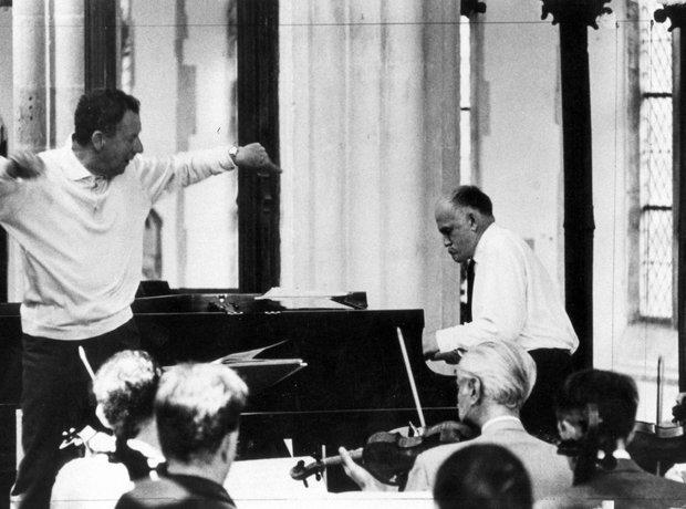 Benjamin Britten Sviatoslav Richter