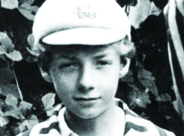 Benjamin Britten schoolboy
