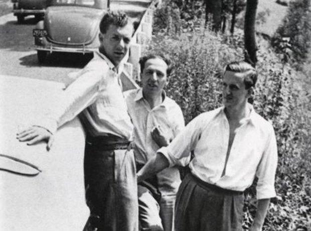 Benjamin Britten Aaron Copland Peter Pears