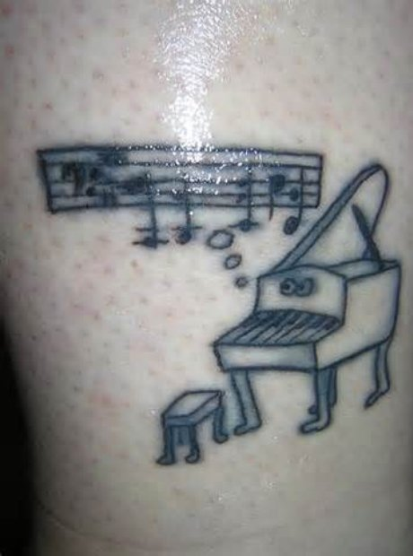 classical music tattoos