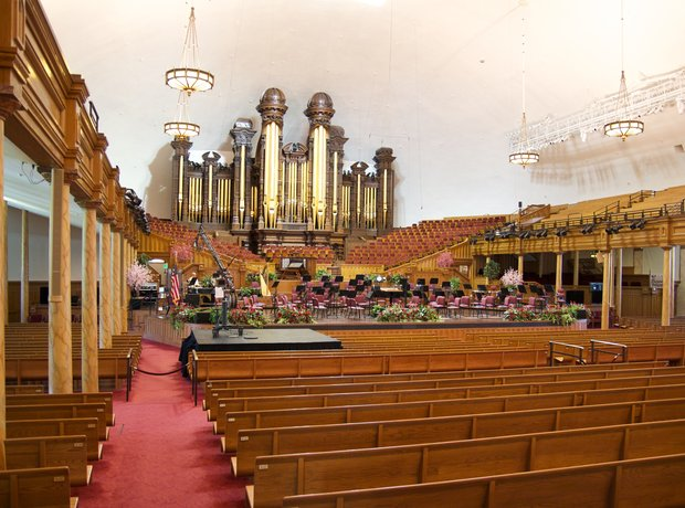 Tabernacle organ salt lake city