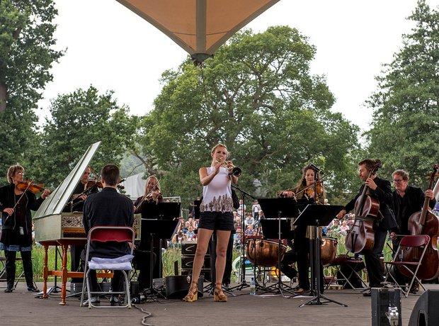 Alison balsom at Latitude festival