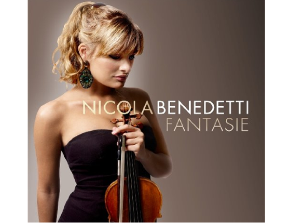 Nicola benedetti fantasie album cover