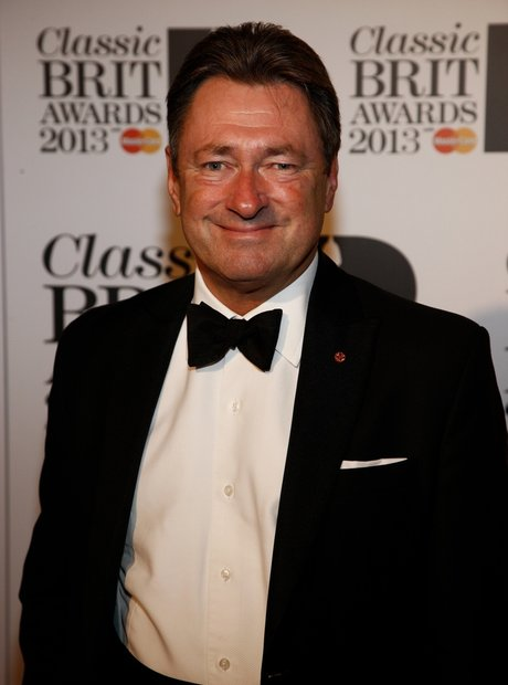 Alan Titchmarsh at Classic Brit Awards 2013