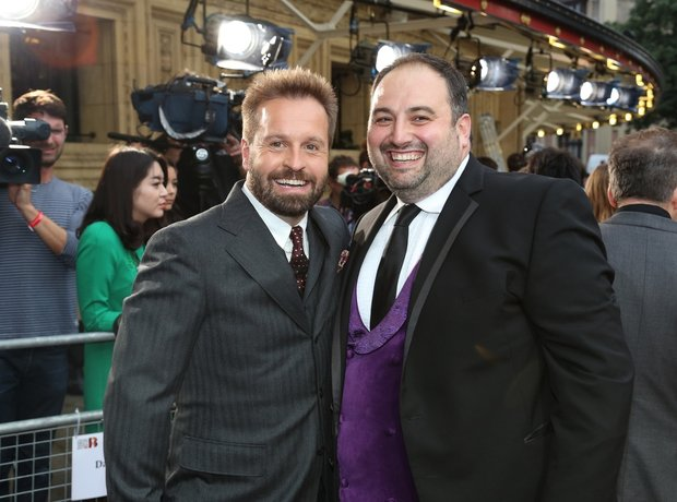 Alfie Boe and Wynne Evans Classic Brit Awards 2013