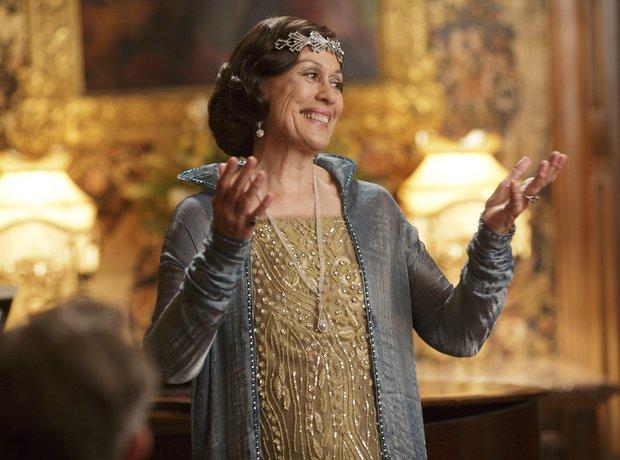 Dame Kiri Te Kanawa in Downton Abbey