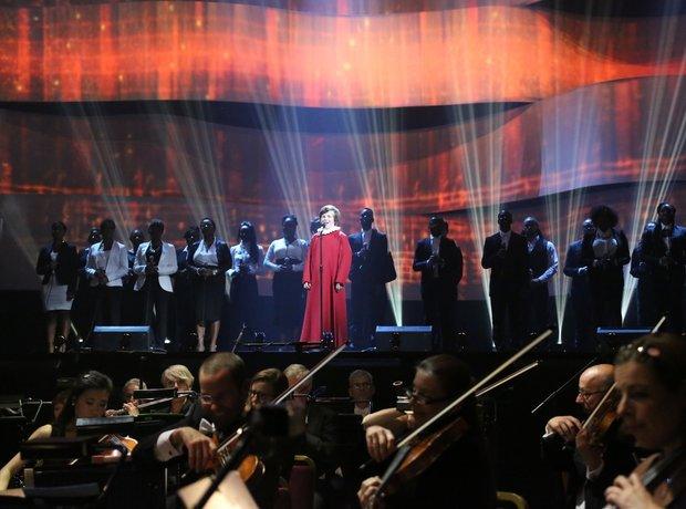 Jack Topper live Classic Brit Awards 2013