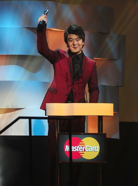 Lang Lang at the Classic Brit Awards 2013