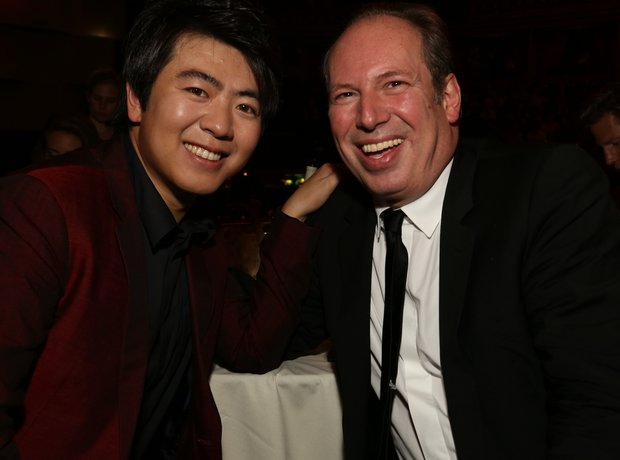 Lang Lang and Hans Zimmer Classic Brit Awards 2013