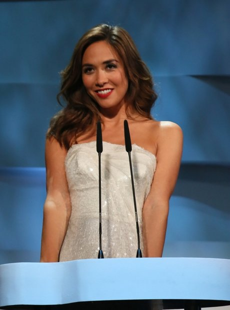 Myleene Klass at Classic Brit Awards 2013