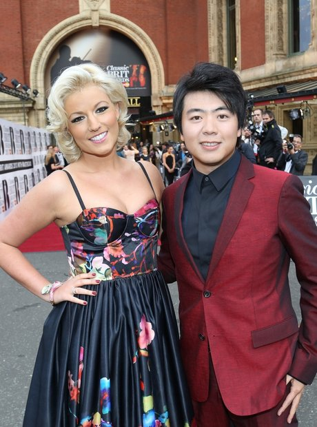 Natalie Coyle and Lang Lang Classic Brit Awards 20