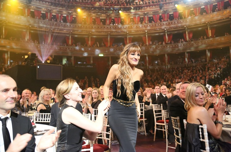 Nicola Bendetti Classic Brit Awards 2013