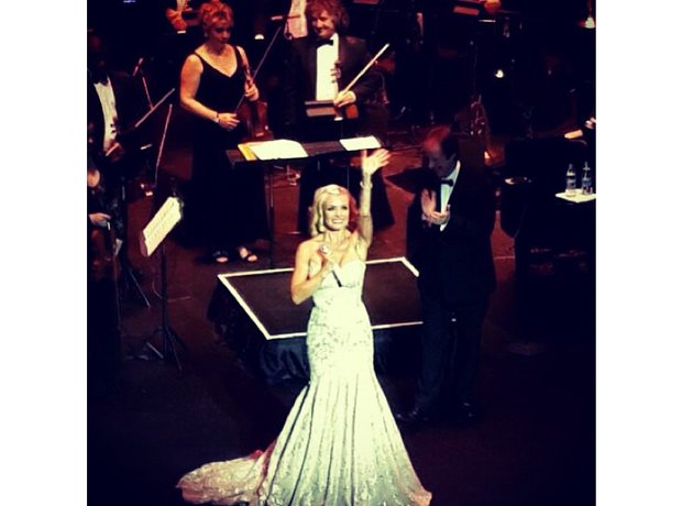 Katherine Jenkins tour photos
