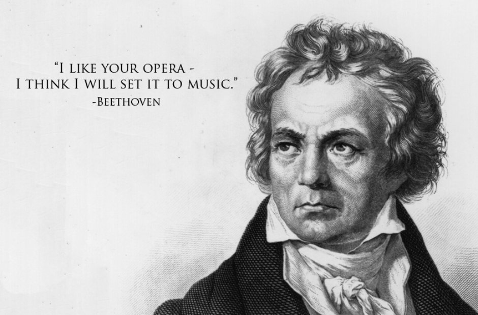 Citaten Plato : Beethoven of the best insults in classical music