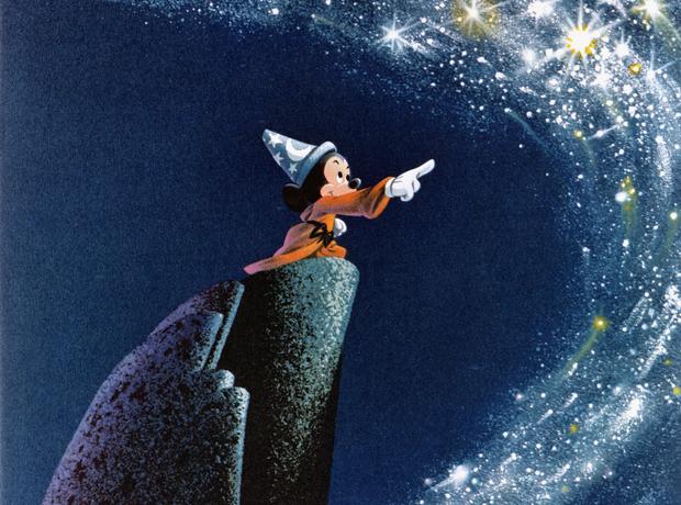 Mickey Mouse Sorcerer's Apprentice Fantasia Dukas