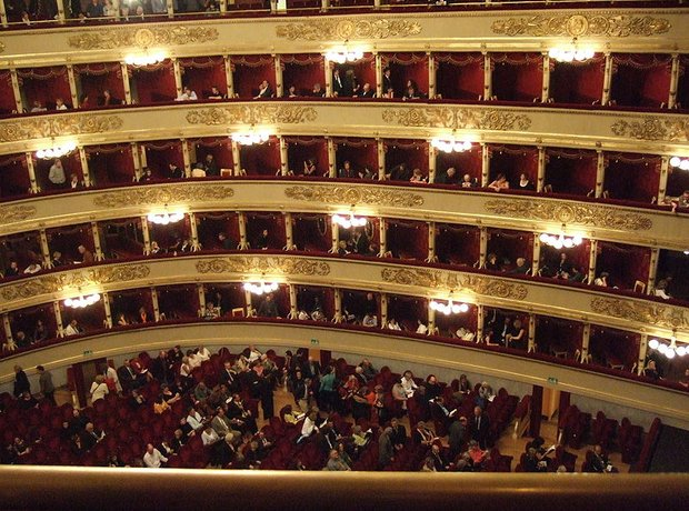 La Scala interior Milan