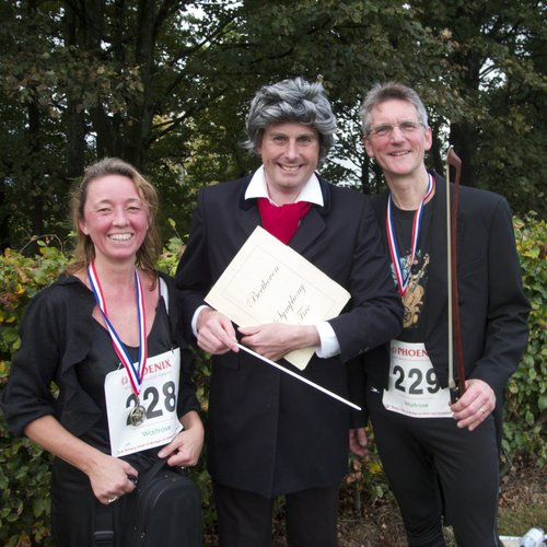 RSNO players beat Beethoven run