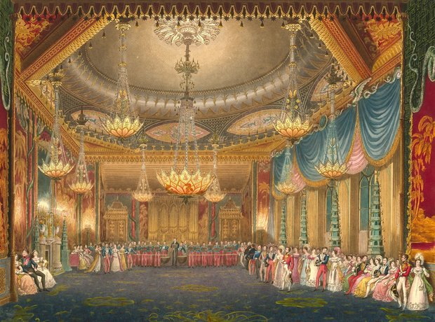 Brighton Pavilion Music Room