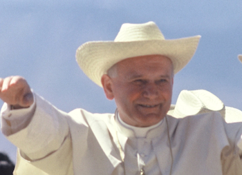 Pope John Paul II Mexico