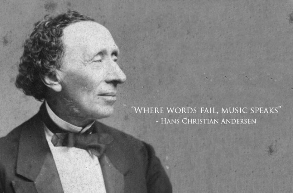 hans christian andersen classical music quotes