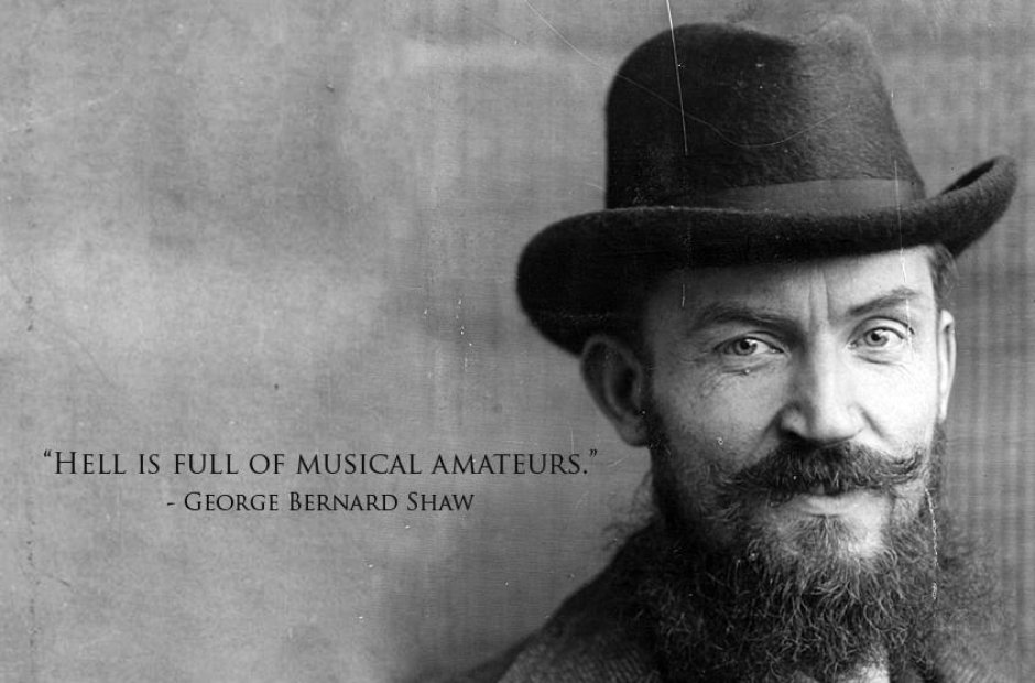 george bernard shaw classical music quotes