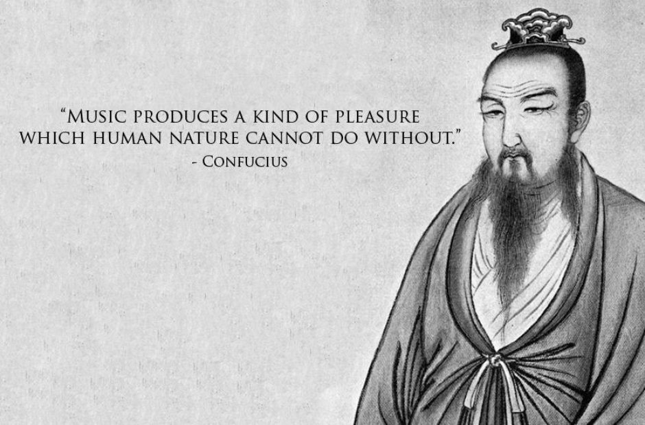 confucius classical music quotes