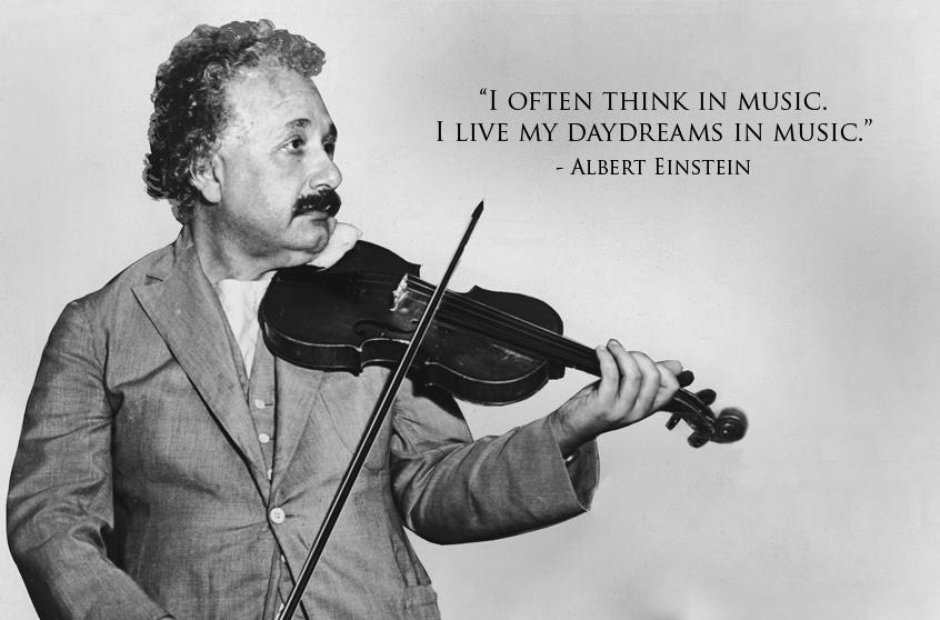 einstein classical music quotes