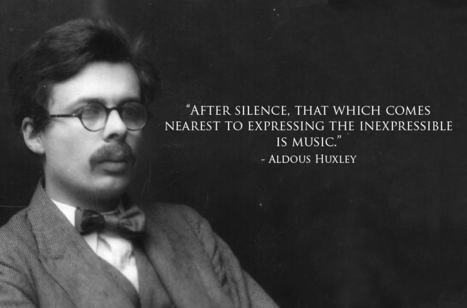 huxley classical music quotes