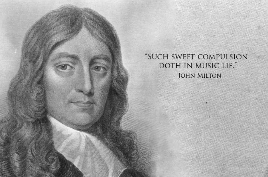 milton classical music quotes