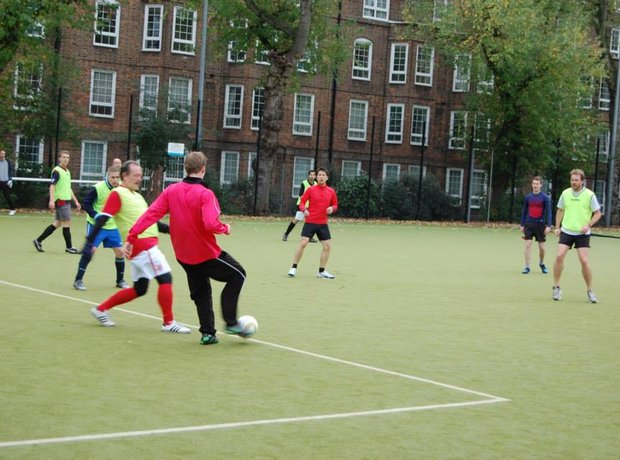 Inter-orchestra football match