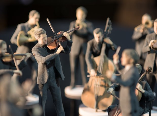 3D models of Aurora Orchestra