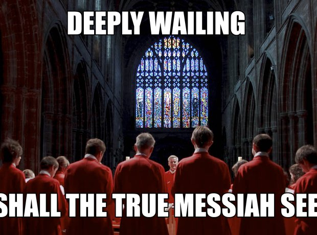 Misheard choral lyrics