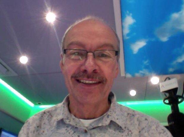 John Brunning Movember Selfie