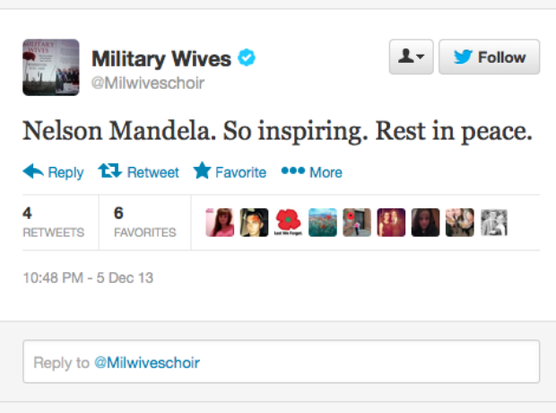 Nelson Mandela: the music world reacts