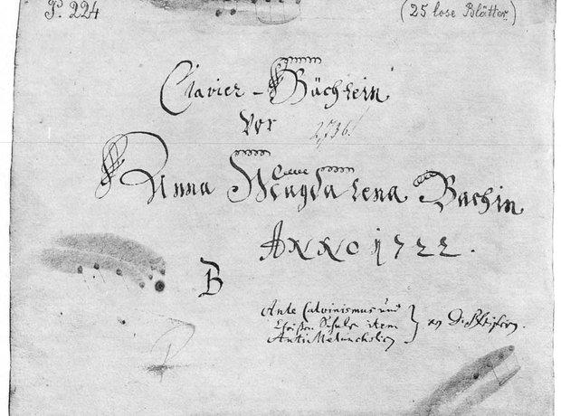 Bach Anna Magdalena wife Johann Sebastian