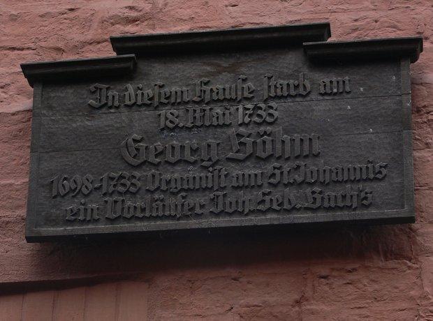 Bach George Bohm organist